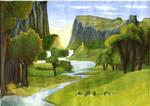 Arcadia landscape