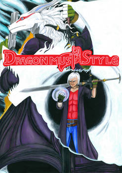 Dragon Must Style Animated Show Poster