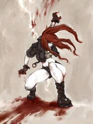 leona BLOODLUST by kunkka