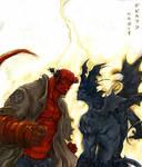 -HELLBOY-vs-DEVILMAN -