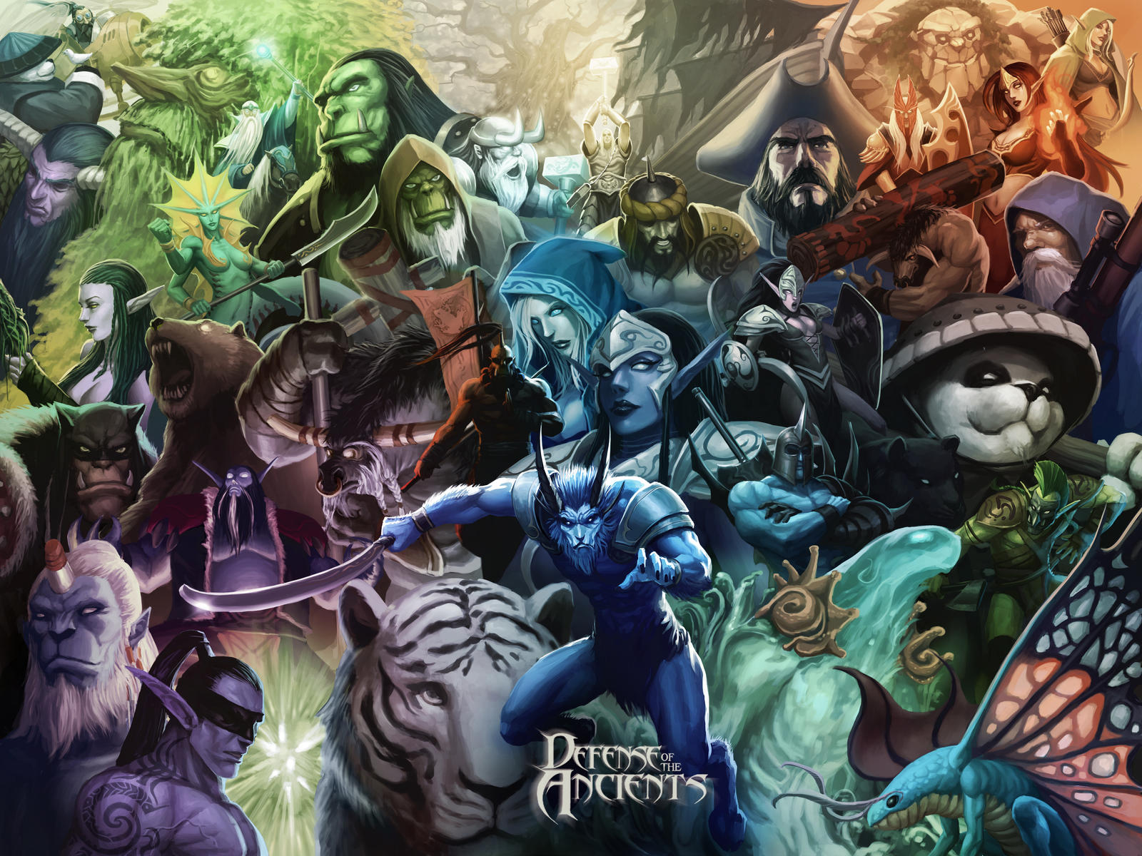 8 Yrs Ago Riki Is The Center Of This Loading Screen Dota2