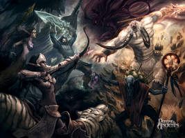 DotA Epic 3v3 by kunkka