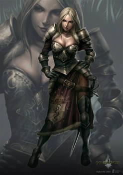 Gina - gyromancer
