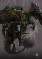 ancient dragon - gyromancer by kunkka