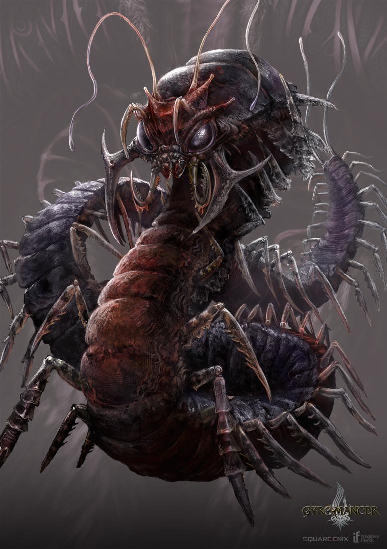 giant_centipede___gyromancer_by_kunkka-d Giant Centipede Fangs