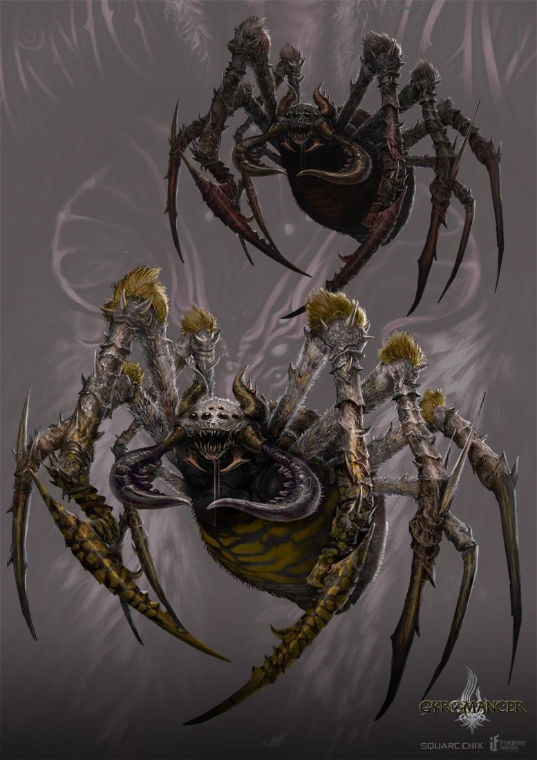 Giant Spider Gyromancer By Kunkka On DeviantArt