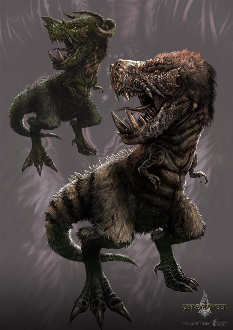 rex - gyromancer by kunkka