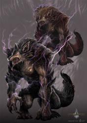 werewolf - gyromancer by kunkka