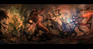 Diablo 3: Dungeon Party