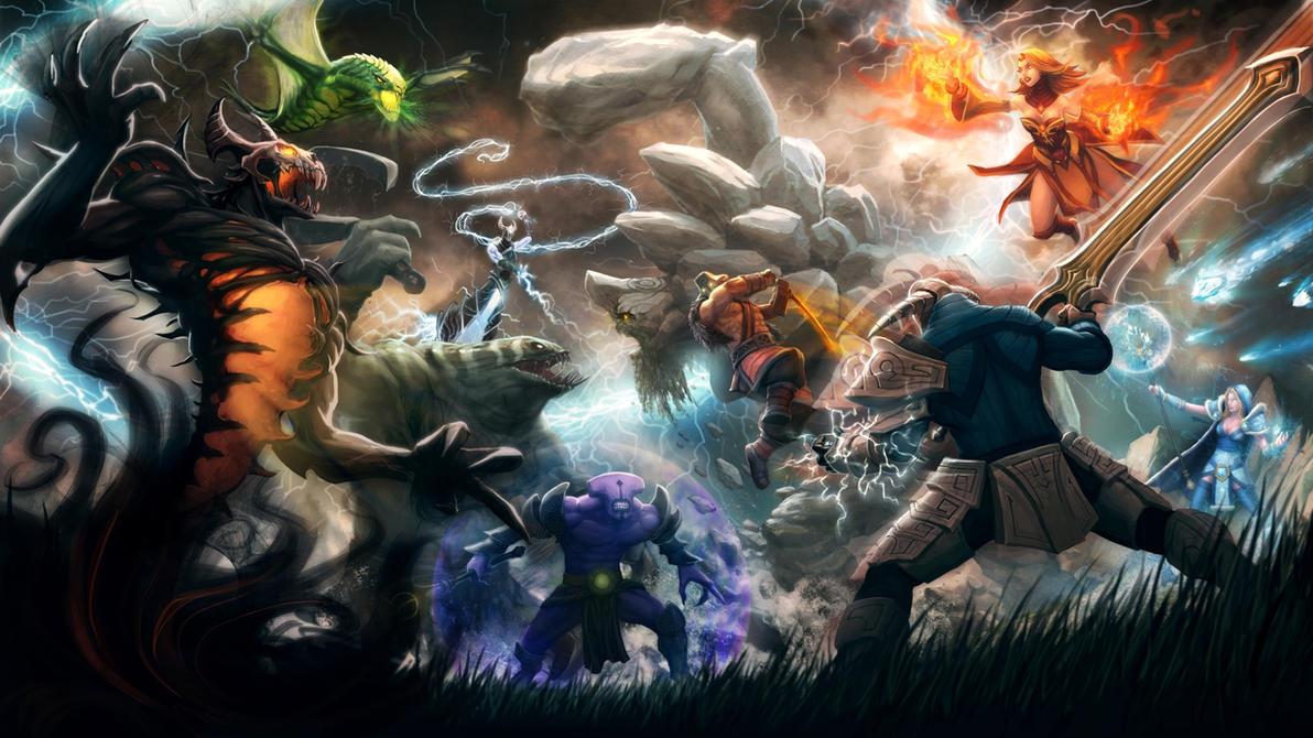 Dota 2 обогнала League of Legends по популярности на Западе