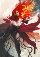 Maiden of Fire by kunkka
