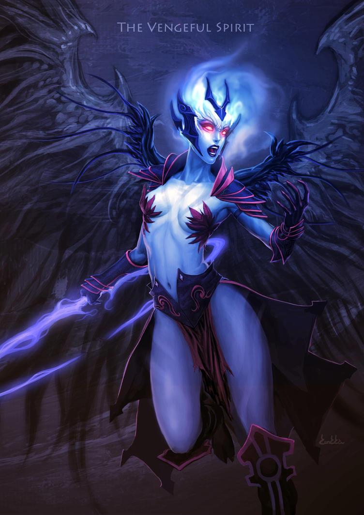 The Vengeful Spirit by kunkka