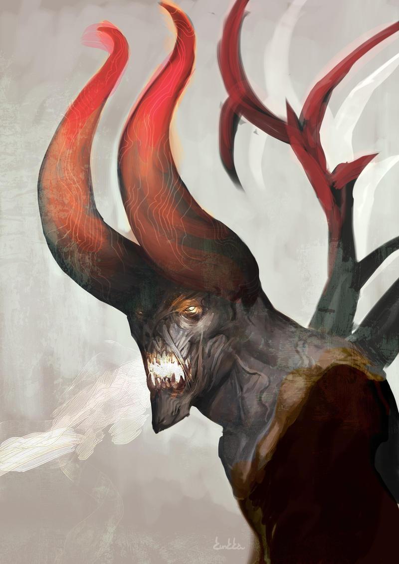 Death Prophet, Doom Bringer and Sven by Kunkka : DotA2