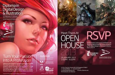 Digital Design and Illustration diploma program by kunkka