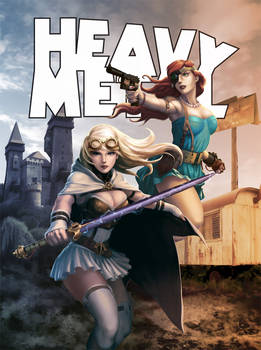 Heavy Metal Mag: Dravn Cover