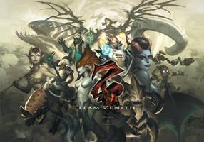 Team Zenith Heroes by kunkka