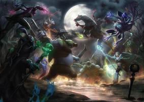 Clash of Heroes II by kunkka