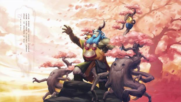 Guardian of the Bountiful Spring by kunkka
