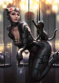 catwoman pinup