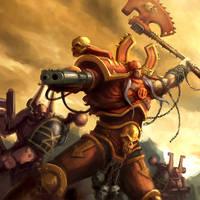 Kharn the Betrayer by kunkka