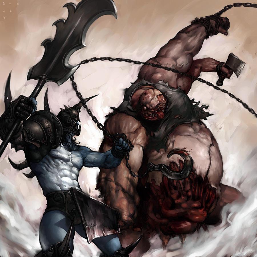 RogueKnight VS Butcher by kunkka