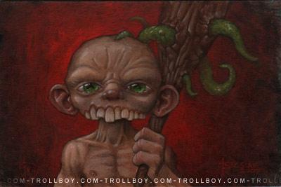 Mr Overbite by trollboy