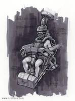 Mech pilot chair by trollboy