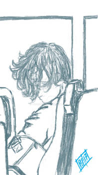 Sketch- The Boy on the Train