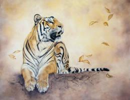 Autumn Tiger by IrenaDem
