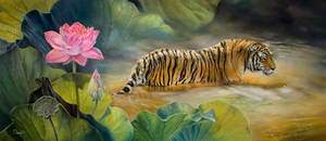 Lotus tiger by IrenaDem