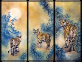 Tiger family by IrenaDem