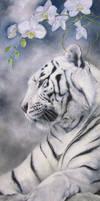 Resting tiger by IrenaDem
