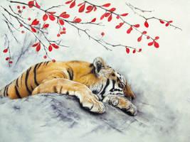 Sleeping by IrenaDem