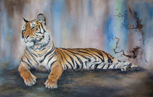 Lazy tiger by IrenaDem