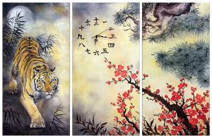 Tiger clock II by IrenaDem