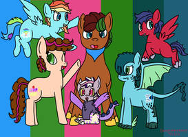 MLP Next Gen Group Picture. by Dansenhedgehog