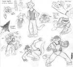 Radical Squadron... sketches