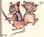 Mouse Guard - Martin and Gonff