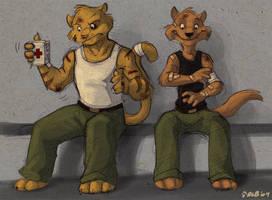 Band-Aid Hog by Kobb