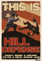 Soldier Propaganda Poster by Kobb