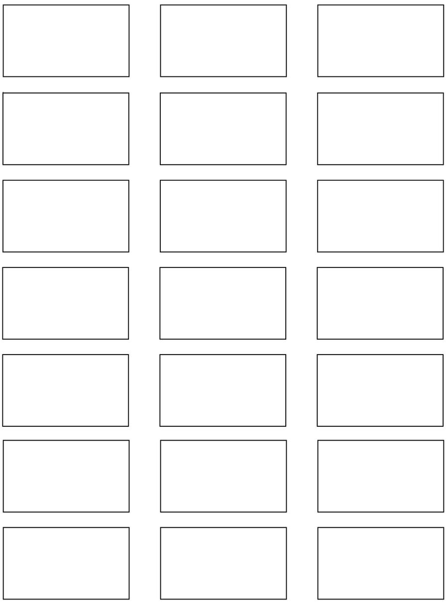 ... Storyboard Template 1 :small: By Kobb