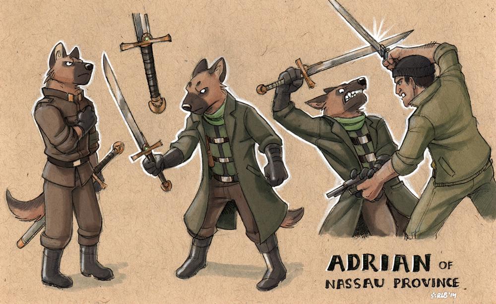 commission - Adrian by Kobb
