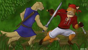 Dakkan vs. Random Fox
