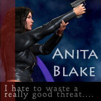 Anita Blake Icon by niko2137