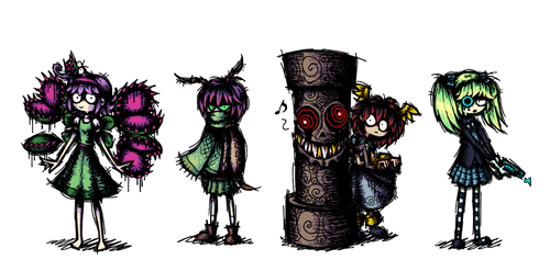 Funky Character Designs