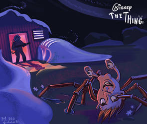 DSG2225-disney The Thing by Mad-Ram