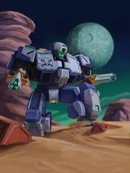 Mecha Galaxy Buccaneer by Mad-Ram