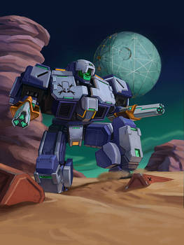 Mecha Galaxy Buccaneer