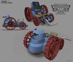 Tether Tank  aka Steam Umbilical Gun Carriage