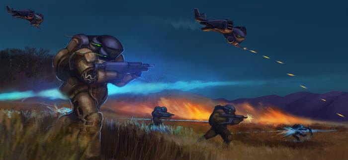 Power Armor Battle Rush